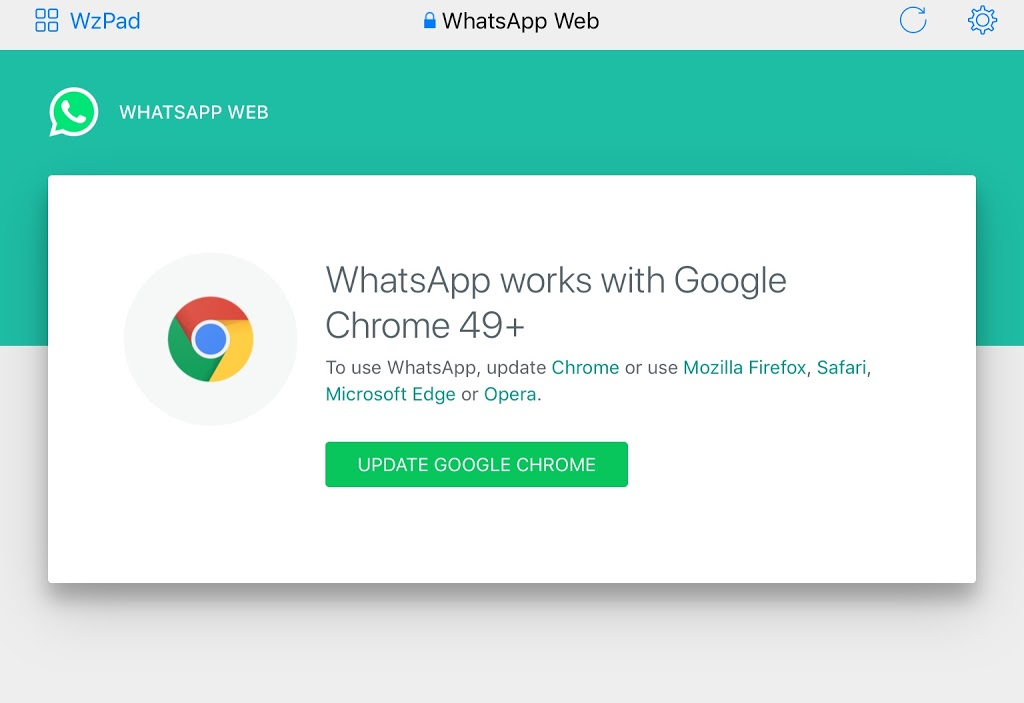 ¿De pronto falló tu WhatsApp en tu iPad?