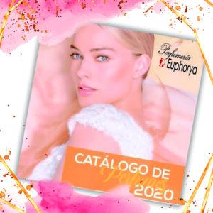 catálogo impreso de perfumes originales-Perfumería Euphorya
